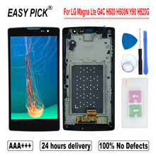 LCD Display Touch Screen Digitizer Assembly Free Tools For LG Magna Lte G4C H500F H502F H500R H500N H500 Y90 H520G