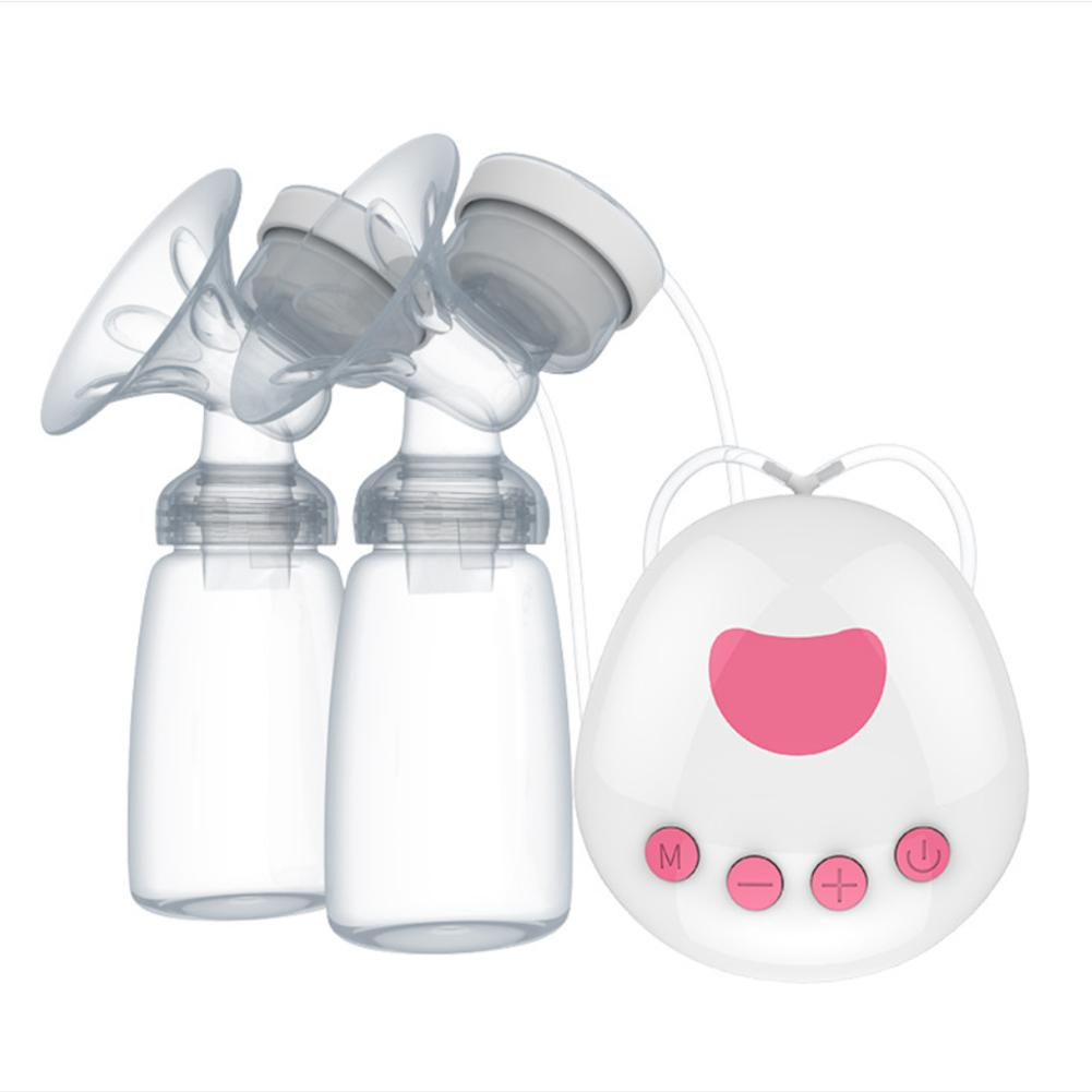 Bilateral Electric Breast Pump Unilateral And Bilateral Automatic Massage Silicone Breast Pump Baby Breastfeeding Accessories