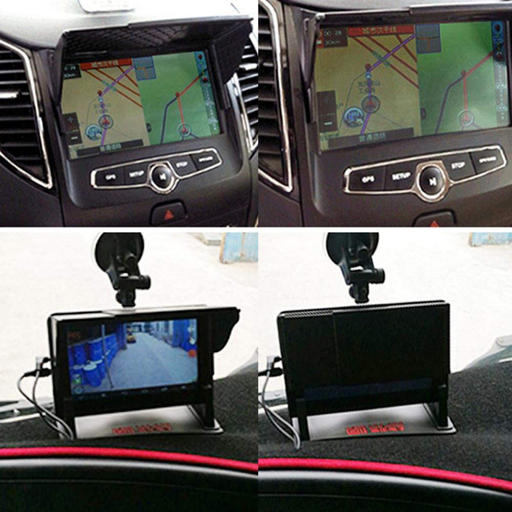 Car Multi purpose Car GPS Navigation Universal Barrier Shade GPS Navigator Sun Shield 2019 New in Sun Visors from Automobiles Motorcycles