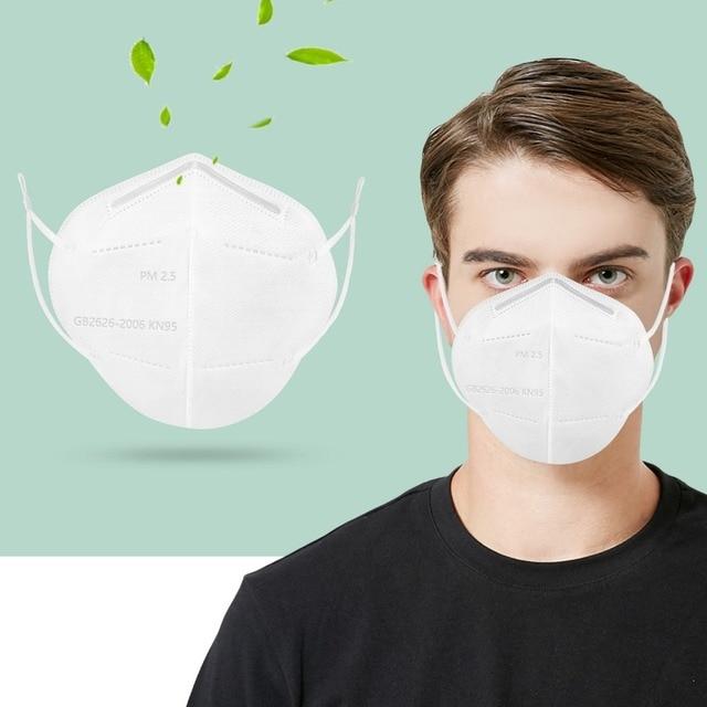 Haze Respirator Mask Mouth Mask Design Carbon Filter Face Respirator Anti Allergy Activat Carbon Proof Flu Dust Mask Cotton Mask 3