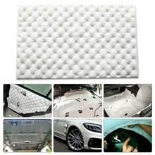 Universal Auto Isolierung Pad Auto Indoor Sound Trittschalldämmung Isolierung Schall Dämpfende Matte Geschlossen Schaumstoff Flammschutzmittel