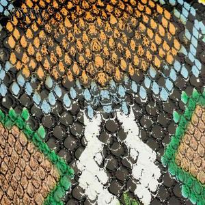 Image 5 - Snakeskin Pattern Clutch Women Greeen Evening Purse Designer Bag Women Sling Shoulder Bags Female Fashion Clutches Bolso Mujer