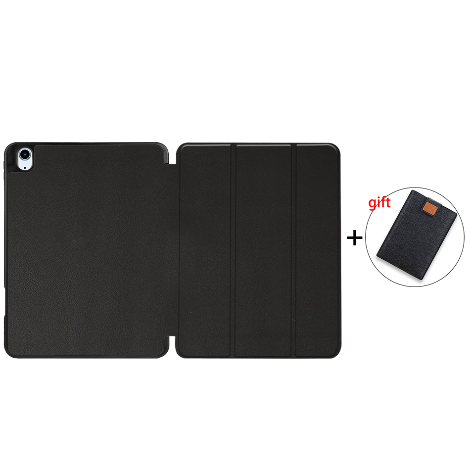 Black Gold MTT Tablet Case For iPad Air 4th Generation 10 9 inch Soft TPU PU Leather Flip