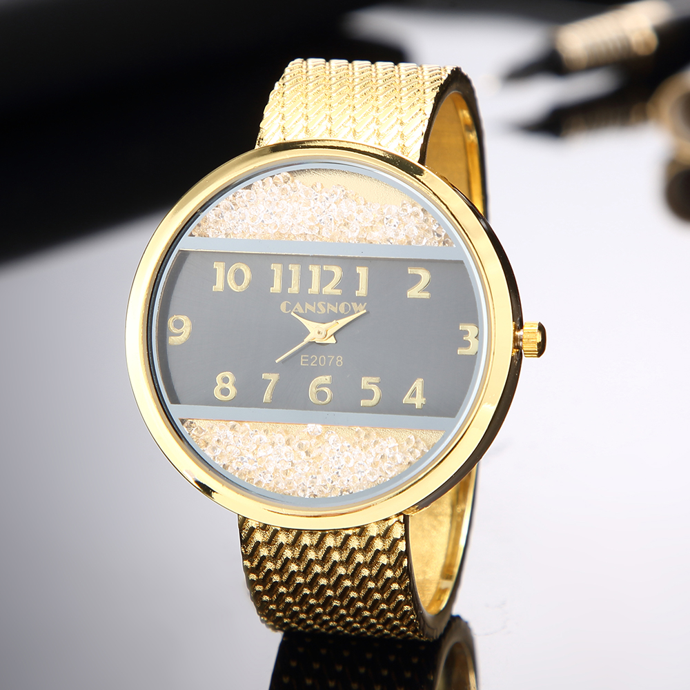 2019 New Fashion Ladies Quartz Watch Luxury Brand Bracelet Watch Stainless Steel Analog Clock Drop Shipping Reloj Mujer Montre