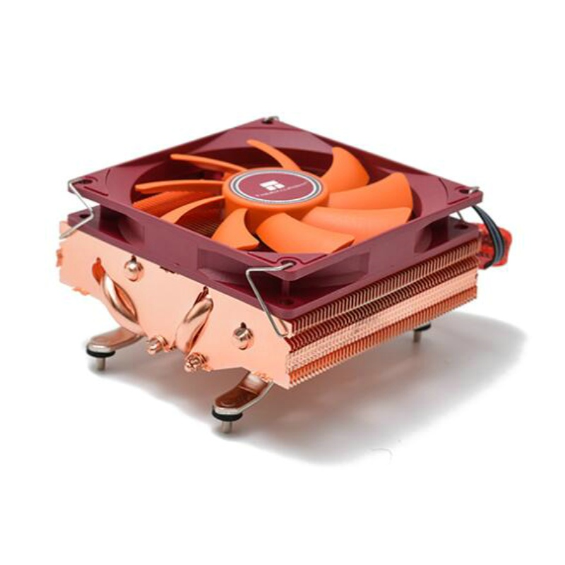 THERMALRIGHT AXP90 4 Heat Pipe Full Plating Reflow Soldering 47mm Thin Style Heat Dissipation Professional For A4 Case