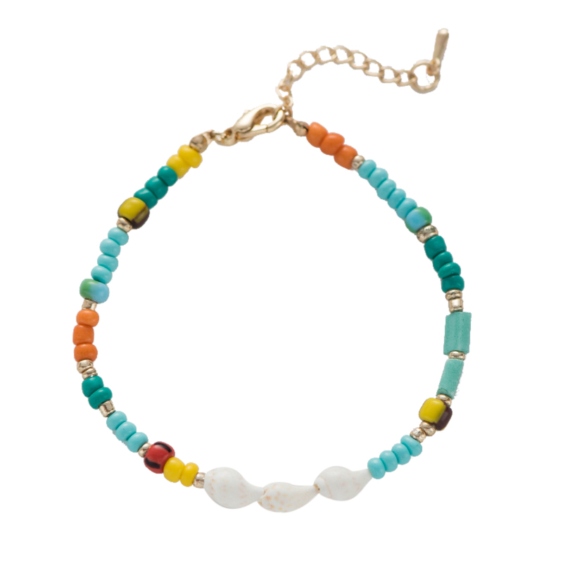 Fever Free Best Selling Bohemia Elastic String Bracelet Colorful Charm Bracelet Bangle Pulseira Feminina For Birthday Party Gift in Strand Bracelets from Jewelry Accessories