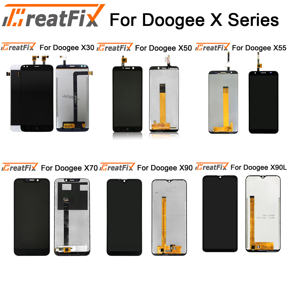 For Doogee X30 X90 X90L LCD Display+Touch Screen Screen Digitizer Assembly Replacement For Doogee X50 X55