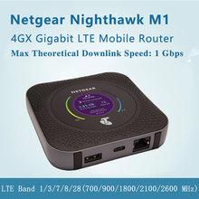 Usado 4g wifi roteador mr1100 netgear nighthawk m1netgear netgear m1
