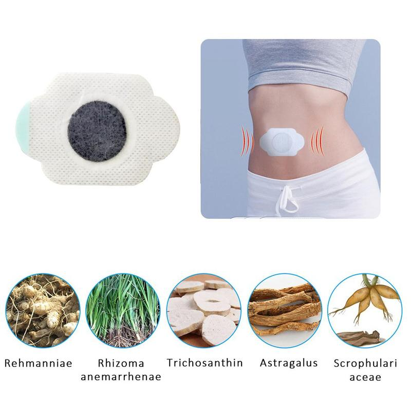 Navel Sticker Diabetic Treatment Chinese Medicine Lower Blood Sugar Glucose Balance Patch Diabetes Blood Pressure Paste Stickers image