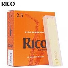USA Original DAddario RICO ORANGE กล่อง reeds EB Alto BB Soprano Tenor barione แซ็กโซโฟน Reed Bb Clarinet BASS Clarinet คลาสสิก