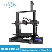 Drukarka 3D 2020 nowy Anycubic Mega Zero 2.0 nowe ulepszenia druk magnetyczny łóżko szybkie nagrzewanie łóżko FDM zestaw do drukarki 3d impresora 3d