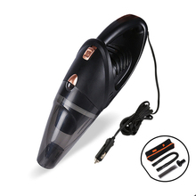 5000pa 120w 12v High Powered Handheld Wet And Dry Car Vacuum Cleaner Kit Portable Strong Suction Automotive Carpet цена