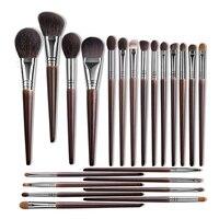 OVW Make-Up Pinsel Set Professional Tools Ziegenhaar Pulver Rouge Lidschatten Blending Foundation Kosmetische für Make Up