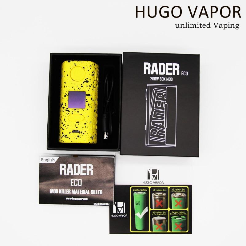 Hugo Vapor Rader ECO 200W Dual 18650 Battery Box Mod 3