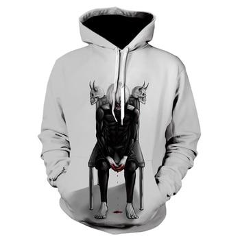 Tokyo Ghoul 3d Hoodies 2020 New Design Mens Hoodies Sweatshirts Tokyo Ghoul Hip Hop Anime Hoodie Men Casual Funny Black top 2