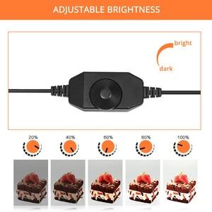 Image 3 - 60*60*60cm Photo Studio Light Box Portable Softbox Photo Tent White Background LED Lightbox for Photography Product Shooting