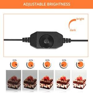 Image 3 - 60*60*60cm Photo Studio Light Box Softbox Portatile Tenda Foto Sfondo Bianco LED Lightbox per la Fotografia di Ripresa del prodotto