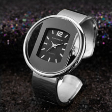 Bracelet Watch Zegarki Silver Women Quartz-Clock Dial Relogio Luxury Brand 39 Feminino