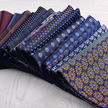 New Fashion handkerchief Bule Green Colorful Floral Paisley Pocker Square Suit Business Wedding Party Leisure Hanky Accessories