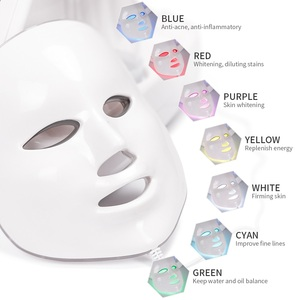 Image 4 - 7 In 1 Dermabrasion Hydra Machine Water Oxygen Injection Facial Peeling Cleansing Small Bubble Device LED Photon Beauty Mask