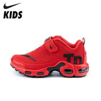 Nike ar max tn crianças sapatos originais nova chegada crianças tênis de corrida confortáveis esportes