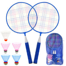High Quality Badminton Racket for Kids Lightweight Shuttlecocks Racquet Kids Badminton Rackets Set with 5 Badmintone Sports Tool