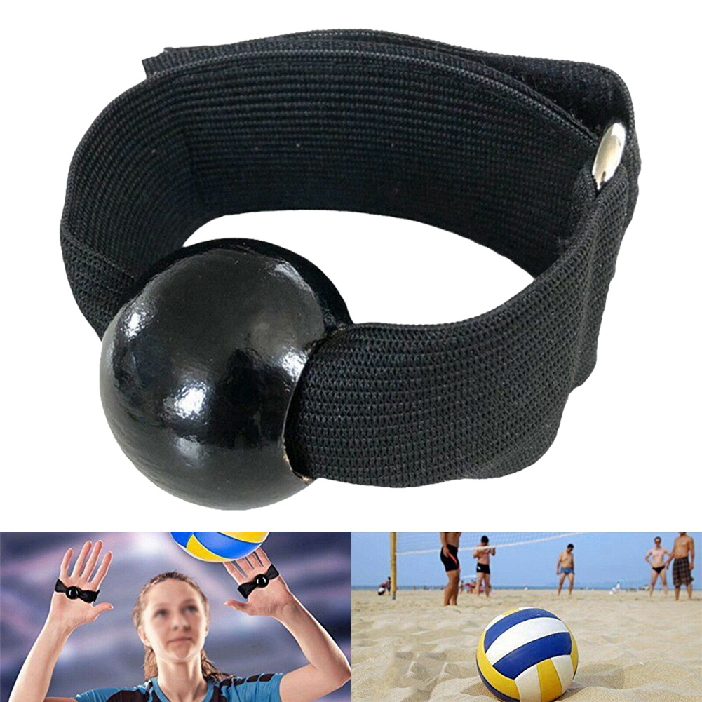 1Pair Volleyball Training Belt Training Bead Exercise Training Equip Volleyball Passer Type Correction Aid  Team Sports