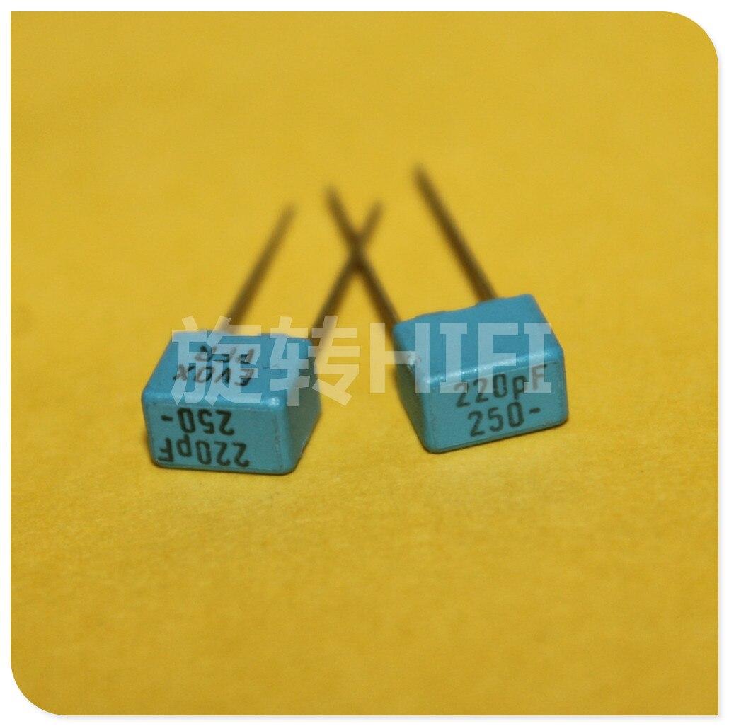 EVOX RIFA PFR5 MKP Audio Film Capacitance P5 200PF 220PF 240PF 270PF 63V 630V 1000V 250V 100V