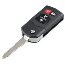 Автомобильный Смарт дистанционные брелки для ключей 4 кнопочный ключ автомобиля брелок подходит для Mazda 3 2010 2011 2012 2013 315 МГц Bgbx1T478Ske125