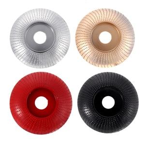 Image 1 - 110mm łuk z węglika wolframu drewna kształtowanie Disc Carving Disc 22mm szlifierka koła narzędzia ścierne do 115 125 szlifierka kątowa