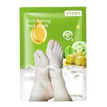 Отшелушивающая маска для ног, носки для педикюра, средство для удаления омертвевшей кутикулы кожи