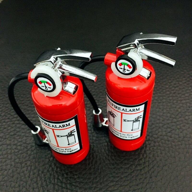 Купить fire extinguisher flashlight lighter metal torch free fire butane