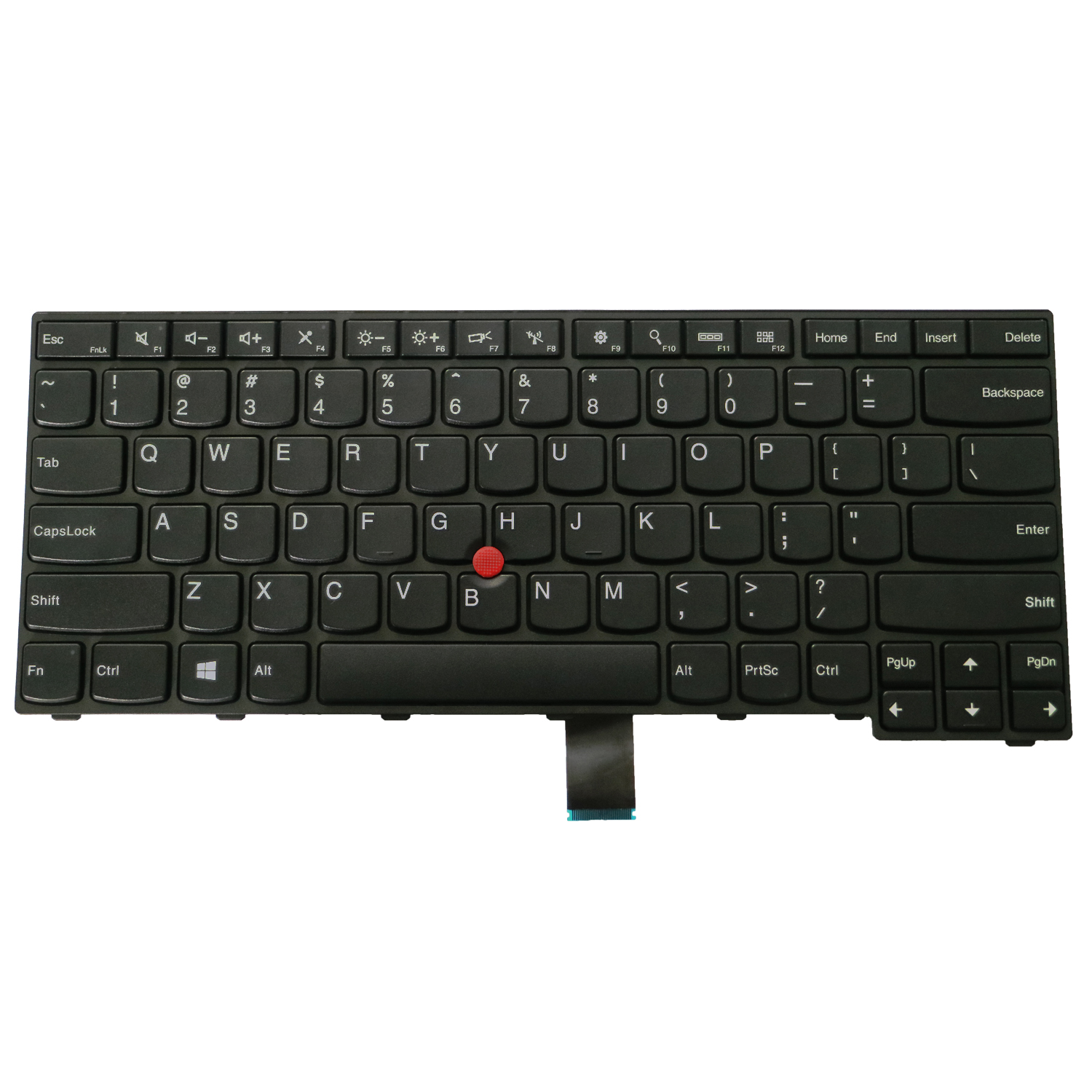 Laptop <font><b>Replacement</b></font> <font><b>Keyboard</b></font> for <font><b>Lenovo</b></font> <font><b>ThinkPad</b></font> <font><b>E450</b></font> E450c E455 E460 E465 W450 Laptop No Backlight image