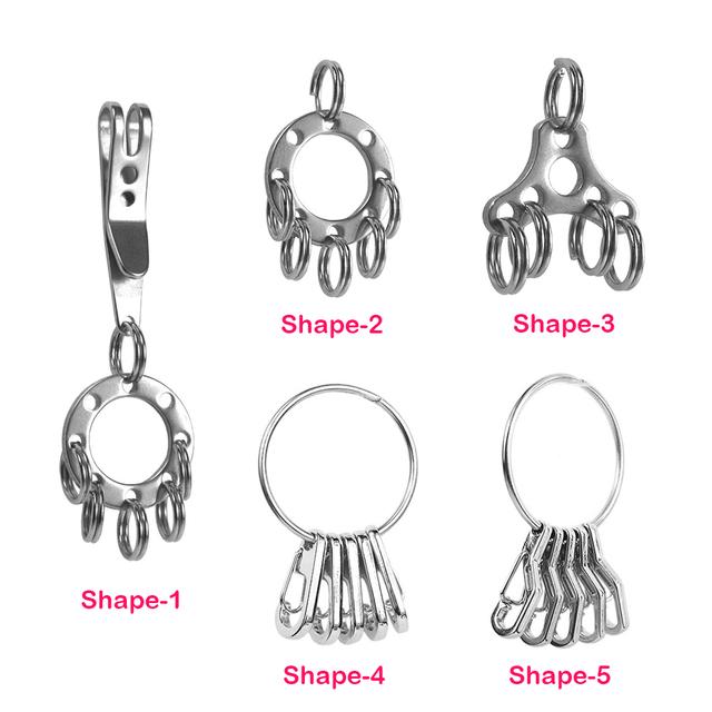 Circular Climbing Keychain