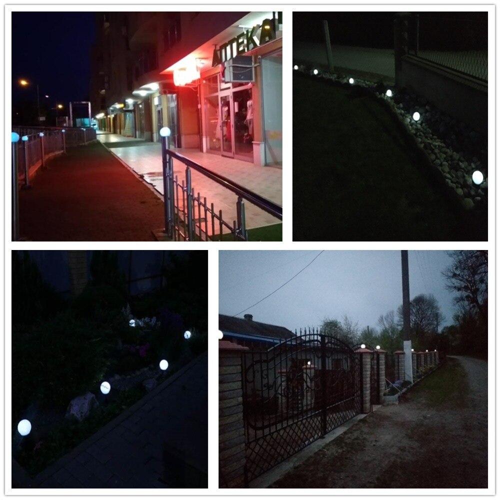 LED Solar Garden Light Outdoor