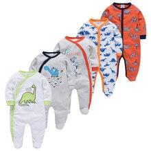 5 шт/компл Ночная пижма для малышей Детские пижамы Одежда новорожденных