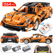 1:12 City Technic App RC/non-RC Motor Sports Car Building Blocks The MOC McLaren P1 SuperCar Racing Vehicle Bricks Toys For Kids(China)