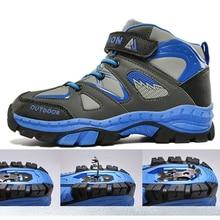 Boys Casual Shoes Winter Warm Children Sneakers High top Anti Slip Kids Trainers Waterproof Sport Footwear Fashion Autumn Rubber