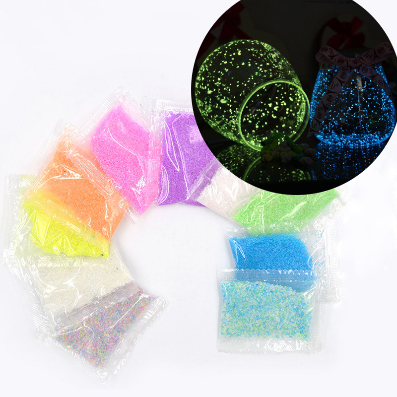 powder jewelry making material home decoration casting handmade art supplies Luminous sand for resin mold