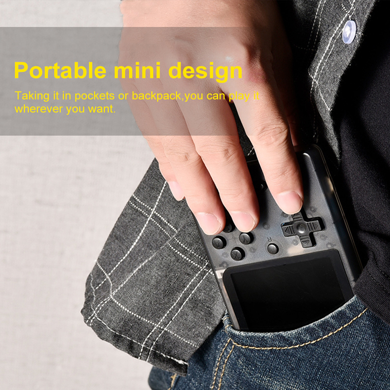 Image 5 - Retro Portable Mini Video Game Console 8 Bit Pocket Handheld Game Player Built in 400 in 1 Classic Games Best Gift game boy-in Handheld Game Players from Consumer Electronics
