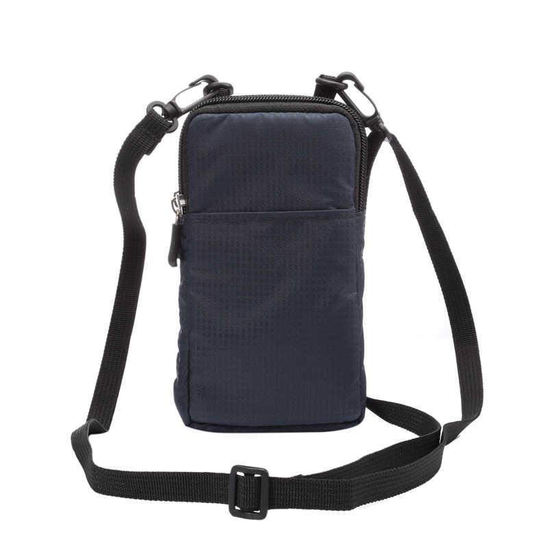 الهواتف المحمولة الحقيبة في الهواء الطلق 3 جيوب 2 سحابات محفظة حزام كليب حقيبة Blackview BV6800 برو BV9500 BV9600 زائد BV9000 BV8000
