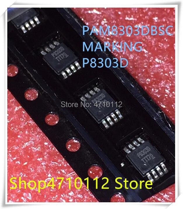 NEW 10PCS/LOT  P8303D PAM8303 PAM8303DBSC MSOP-8 IC