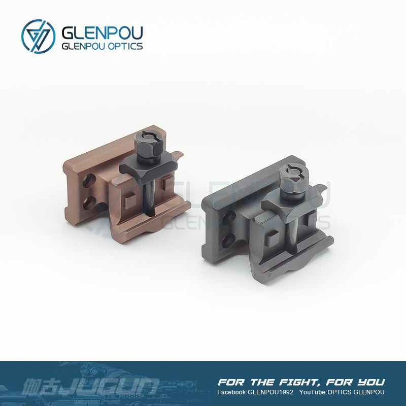 GLENPOU Almpolnt T1& T2 &JUGUN1 Tactical With Gelssele Super Preclsion Series Scope Mount Airsoft & Hunting Scope