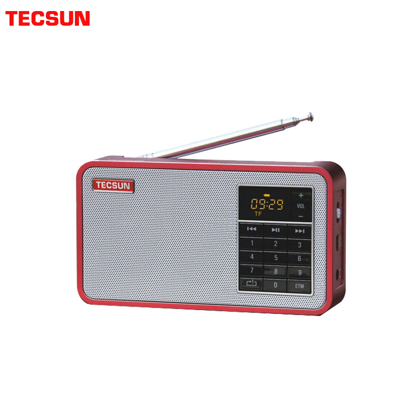 TECSUN X3 FM Stereo Digital Audio Radio Can Used MP3 Player,PC Loudspeaker,USB Disk With East Tuning Mode