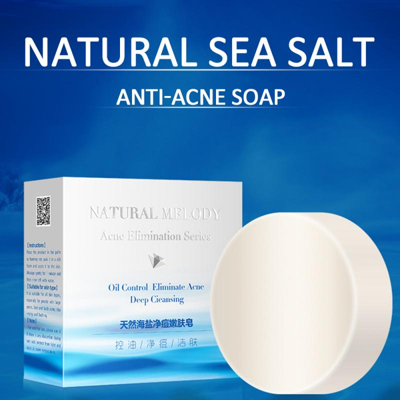 Sea Salt Soap To Remove Pimple Acne Treatment Oil And Acne Skin Essence Bath Soap Rose Essential Oil Whitening Soap Skin Care