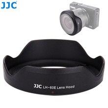 JJC parasol de lente de flor para Canon EF M 11 22mm lente en Canon EOS M200 M100 M50 M10 M6 Mark II M5 Cámara sustituye EW 60E parasol de lente