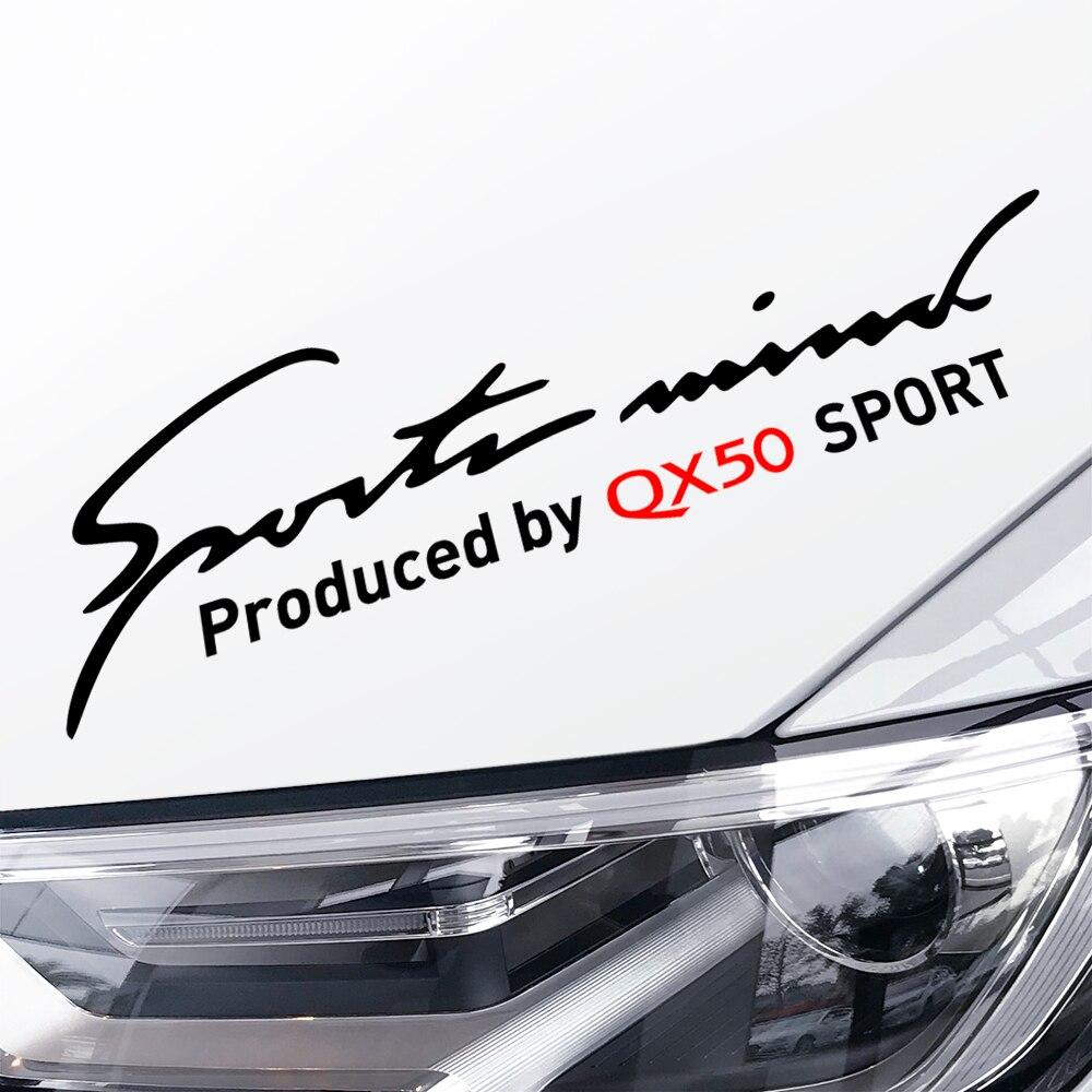32cm adesivos reflexivos do carro lâmpada esportiva sobrancelha estilo auto cativante decoração para nissan infiniti qx50 acessórios do carro