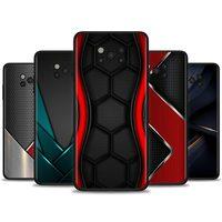 Case Voor Poco X3 Nfc M3 Pro M3 F3 F1 Capa Voor Mi Note 10 Pro Lite Caso Voor Xiaomi CC9 Pro A3 A2 Lite Carbon Fibre Sport Auto