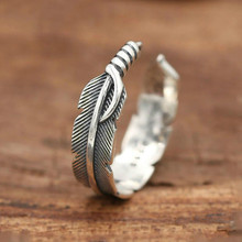 925 sterling silver Feather engagement Tail ring men women fashion fine jewelry wholesale wholesale sale genuine 925 sterling silver feather necklace fine jewelry crystals from swarovski 925 jewelry beads