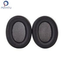 POYATU สำหรับ ATH DWL550 แผ่นรองหูฟังแผ่นรองหูฟังสำหรับ Audio Technica ATH DWL770 แผ่นรองหูฟังแผ่นรองหูฟัง Earmuff เบาะรองนั่ง